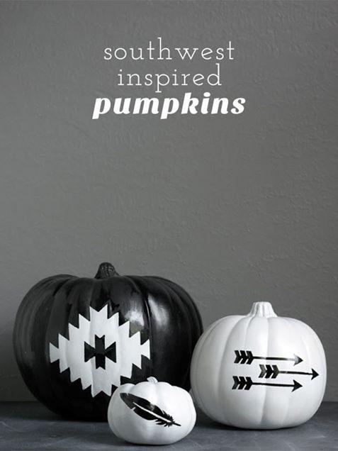Black and White Halloween DIY Decor Ideas - iVillage