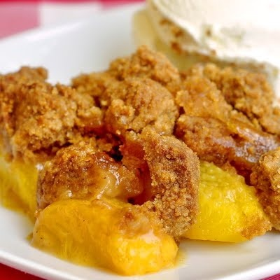 Ginger Snap Peach Crumble #Newfoundland, #recipes, #RockRecipes, #cooking, #food, #baking, #food #photography, #family, #meals, #StJohns Twitter: @RockRecipes