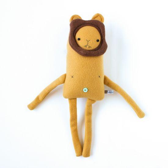 Handmade Plushy Lion Friend