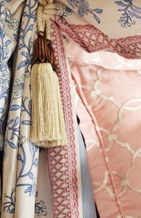 Image: charlottemoss.com. #charlottemoss #interiordesign #fabric