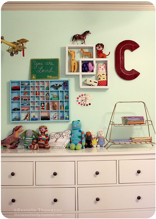 Super cute boys room!