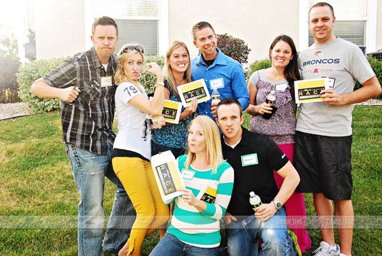 The ULTIMATE Amazing Race Group Date Night with ALL of the free printables you'll need to plan it.  So much fun!!
