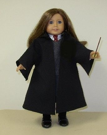 HARRY POTTER UNIFORM  FOR AMERICAN GIRL DOLL by donnacotterman