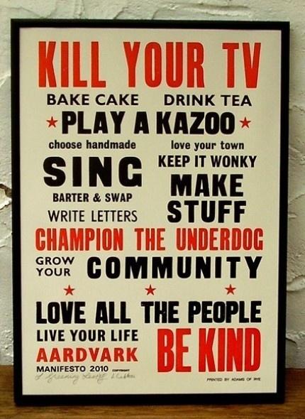 Good advice poster.