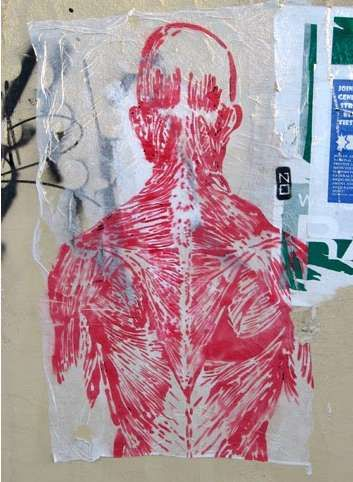 Biological Graffiti Inspiration #graffiti trendhunter.com