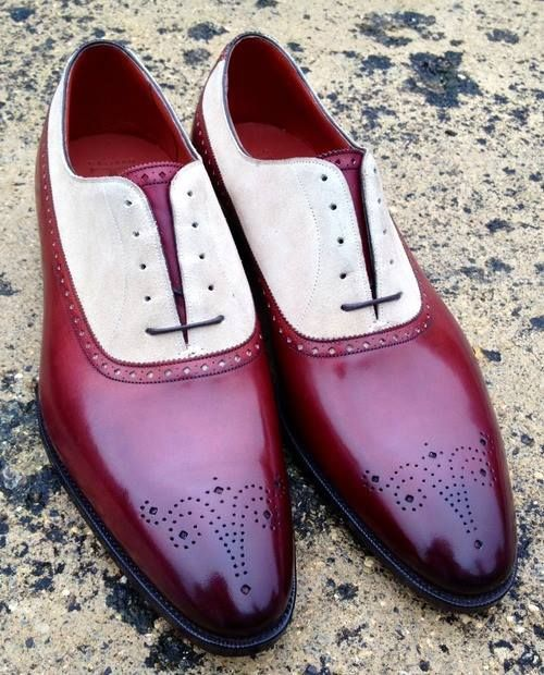 ? mens fashion shoes - that's bold