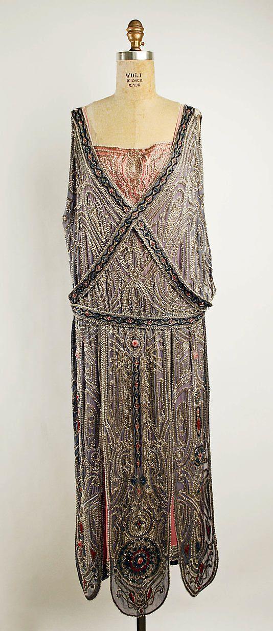 10-11-11 House of Lanvin evening dress 1923
