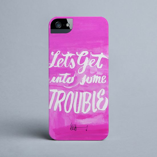 Victoria Verbaan - Somebody's Middle Name - iPhone cover