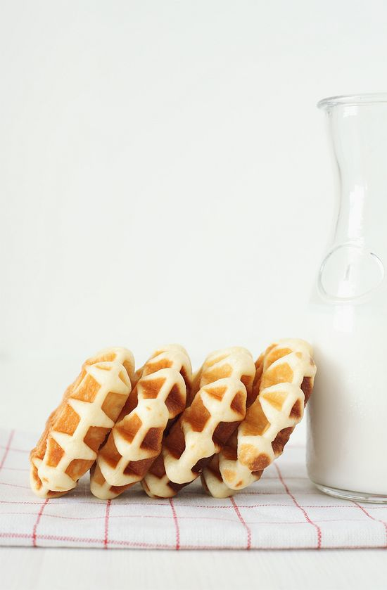 ... waffle bread ...