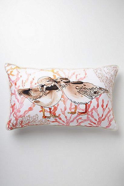 Galapagos Pillow #anthropologie beach house decor