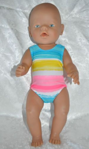 Baby Born Doll Clothes ~ Summer Bathers ~ Accessories
