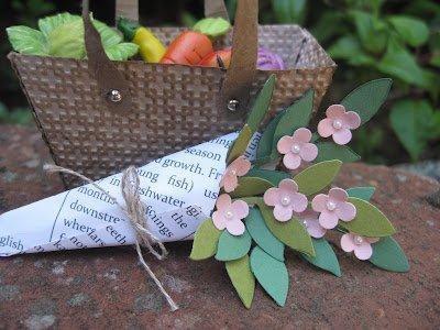 Market basket (petite purse die) by Stampin' Up! Demonstrator Lynda Lee