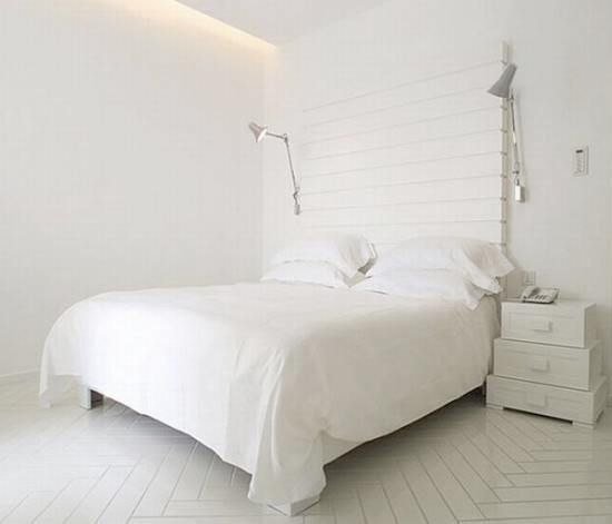 #ALL #WHITE #interior #design #BEDROOM  FROM www.remodelista.c...