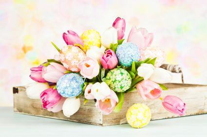 How to Make Easter Flower Arrangements