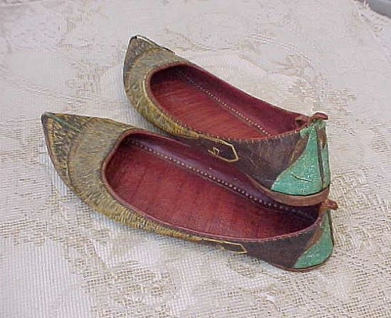 Exotic Antique Indian Shoes Collected by An by TheJewelMystique, $38.00