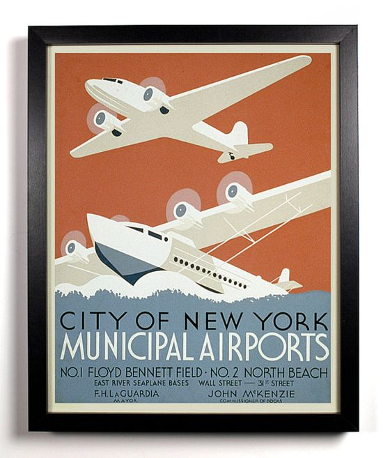 Vintage travel poster to go with world travel theme