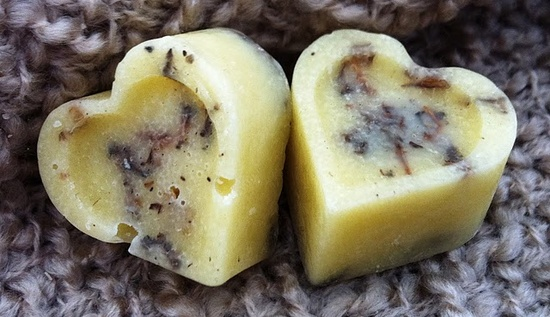 DIY lavender bath melt tutorial