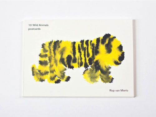 Wild Animals postcards