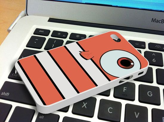 Finding Nemo, Nemo Body iPhone 5 iPhone 4 / 4S Plastic Hard Case Rubber Soft Case