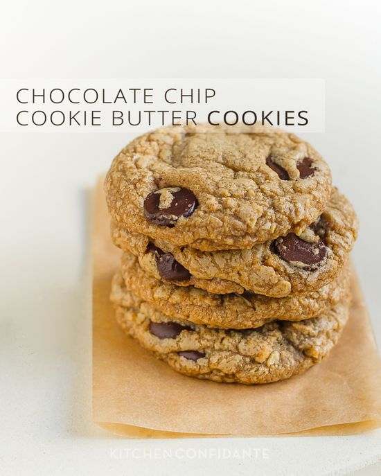 Chocolate Chip Cookie Butter Cookies