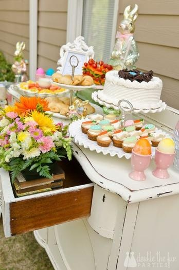 Shabby Chic Easter Party