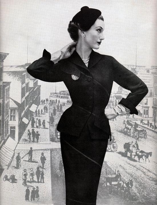50's fashion shot