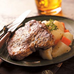 Pork Chop Supper Recipe