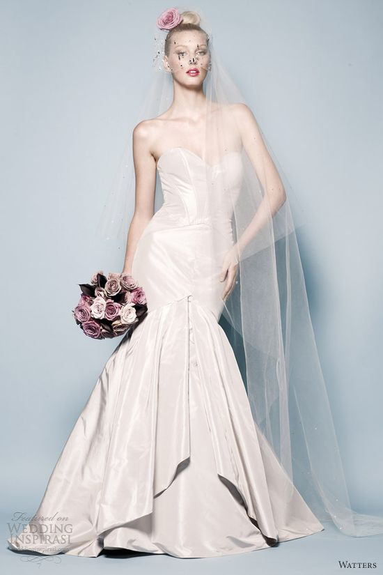 Watters Brides Spring 2013 Wedding Dresses