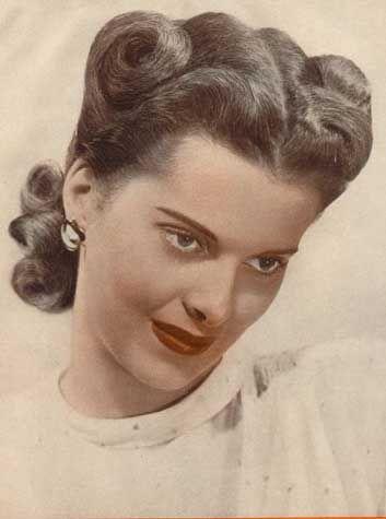#1940s #hair #retrohairstyles #hairstyles #vintage #retro