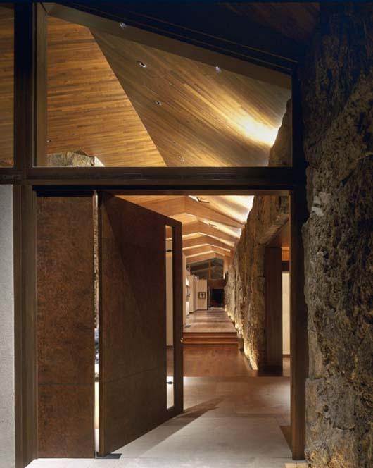 Contemporary Mountain Cabin Design Modern Interior Decorating
