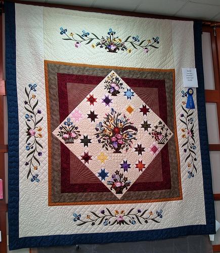 """""""Spring's Promise"""" Handmade Quilt"""