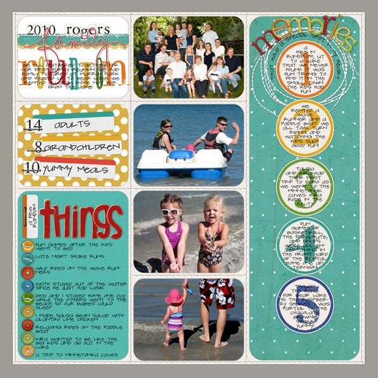 2010 Family Reunion - Scrapbook.com