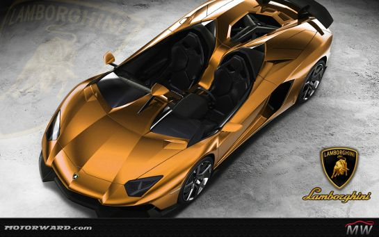 Lamborghini Aventador J Gold Edition