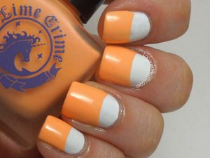 Apricot #nail art #nails www.finditforwedd...
