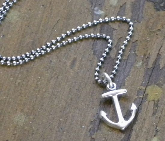 Anchor Charm Necklace >> Ahoy!