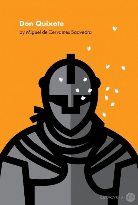 Don Quixote by Luis Prado #cover #book #bookcover #alternative  #recoveringtheclassics