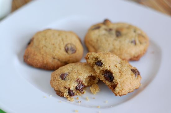 Recipe: Whole-Wheat Chocolate Chip Cookies (with sugar!)