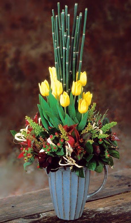 Sun Valley Tulip Flower arrangements