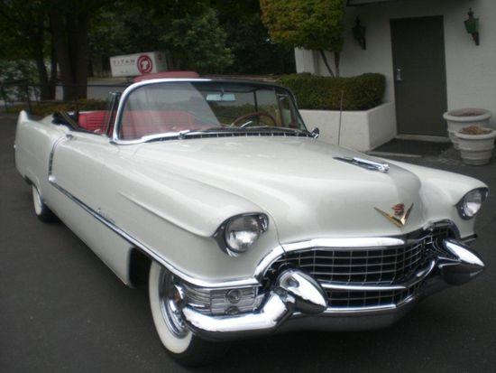 1955 Coupe DeVille #cadillac #coupe #deville #classic #vintage #convertible #cars #auto #luxury