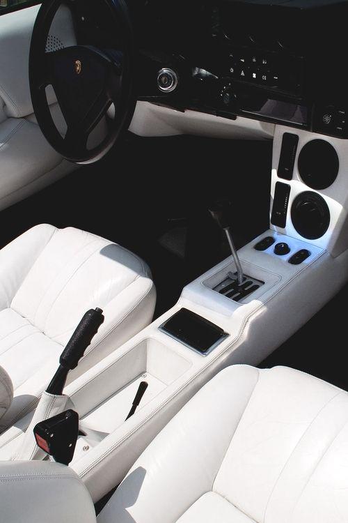 ? Car black & white interior