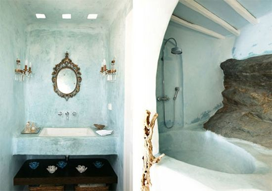 A unique Moroccan bathroom. #decor #pretty