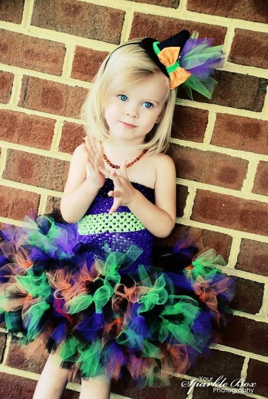 witch costume tutu dress
