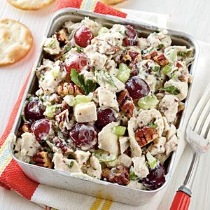 Poppy Seed Chicken Salad Recipe