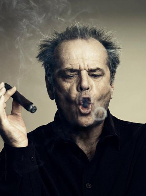 jack nicolson #cigar #smokering