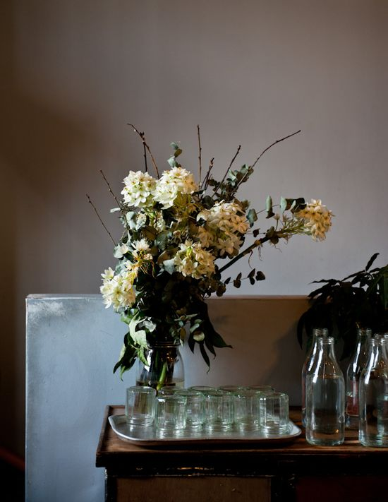 gathered bouquet
