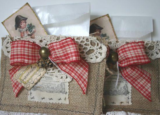 treat bag or gift card holder
