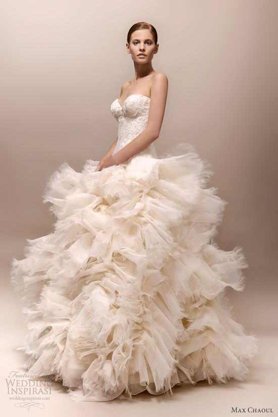 max chaoul wedding dress 2013