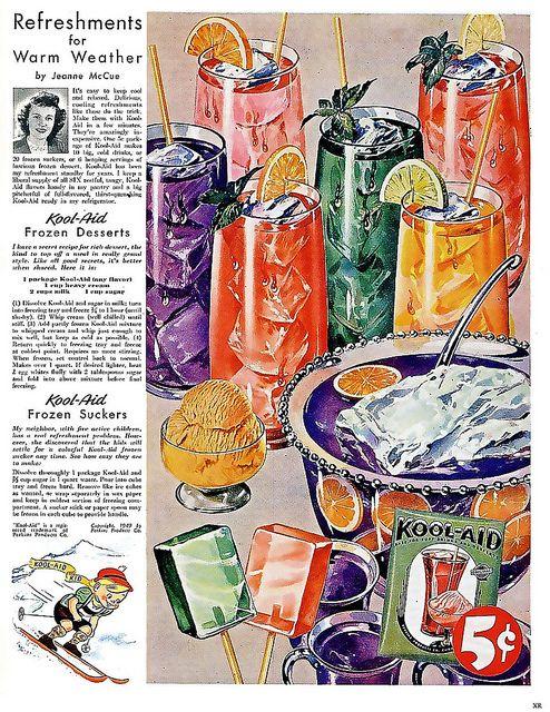 Kool-Aid Vintage Ad