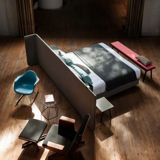 I have always wanted to do this type of layout!!!!! Lit AREA BED par MAGNITUDE Design x Alain GILLES?