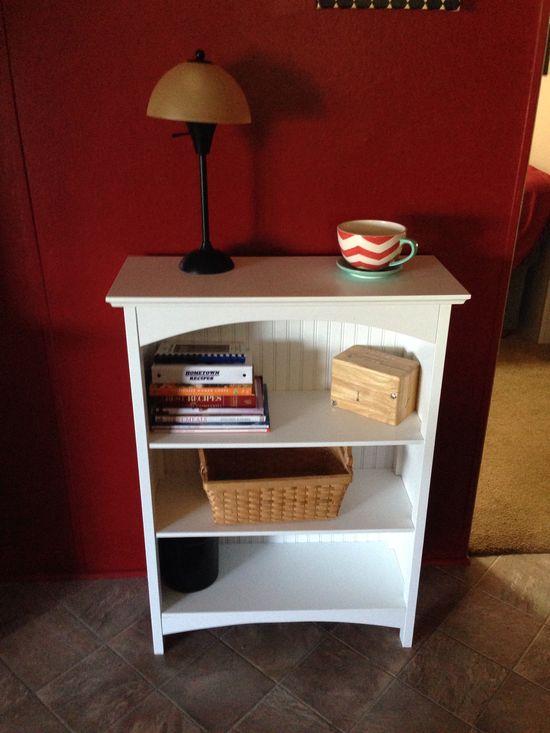 Kitchen decor and cookbook storage